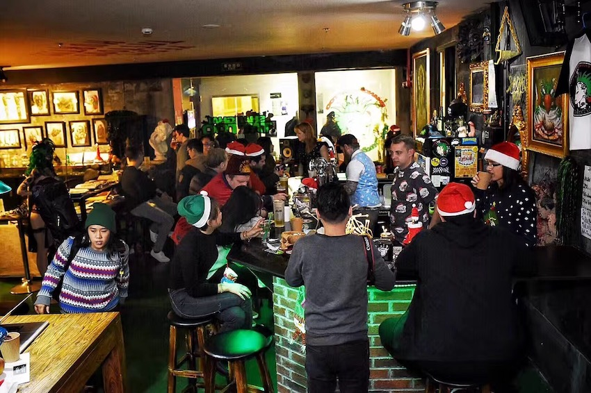 Shanghai Tattoo Ugly XMAS sweater party 2016