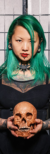 Shanghai Tattoo - Zhuo Dan Ting, The Queen of Tattoo in China